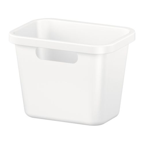 RATIONELL Waste sorting bin IKEA Rounded corners; easy to clean.