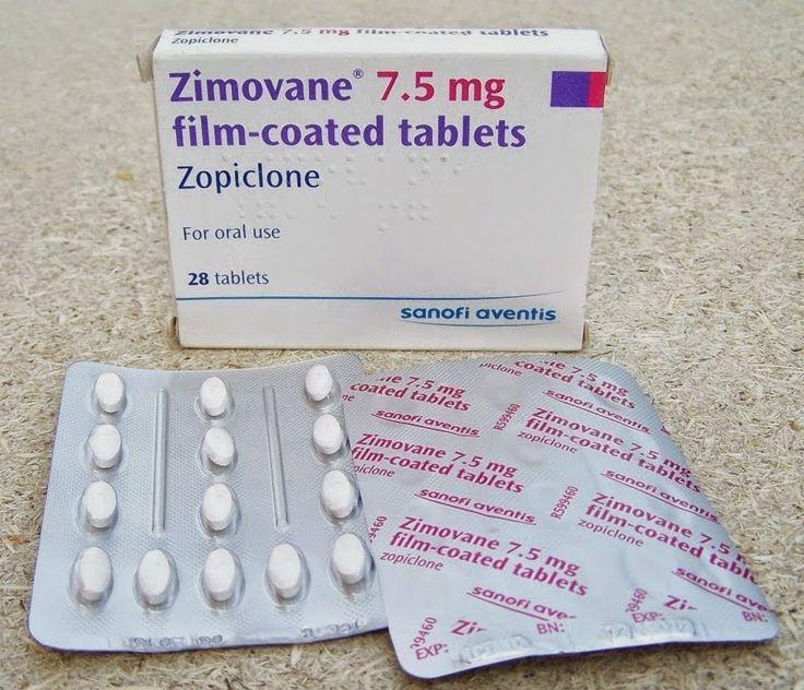 اقراص زيموفان Zimovane لعلاج الارق Tablet Convenience Store Products Pill