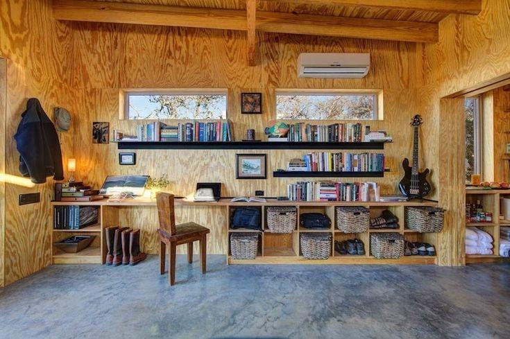 Отпускные домики у реки, построенные на дружбе  http://happymodern.ru/otpusknye-domiki-u-reki-postroennye-nadruzhbe/ друзья7