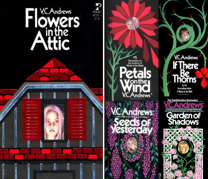 a comparison of a book and the movie flowers in the attic by v c andrews There was no sleazy, trashy horror scum in this book - v c andrews is  vc andrews' novel flowers in the attic is  there is no comparison in any way the movie.