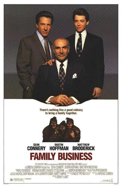 FAMILY BUSINESS POSTER (1989)
