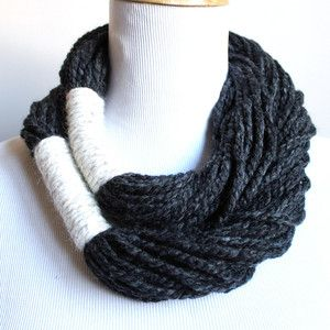 Infinity Rope Scarf now featured on Fab.