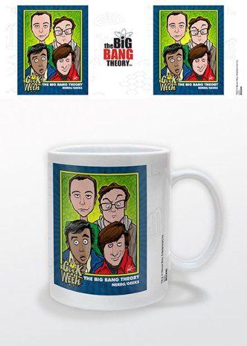 The Big Bang Theory - Ceramic Coffee Mug (Geek A Week - Animated Characters) @ niftywarehouse.com #NiftyWarehouse #BigBangTheory #TV #Show #BigBangTheoryShow #BigBangTheoryTVShow #Comedy