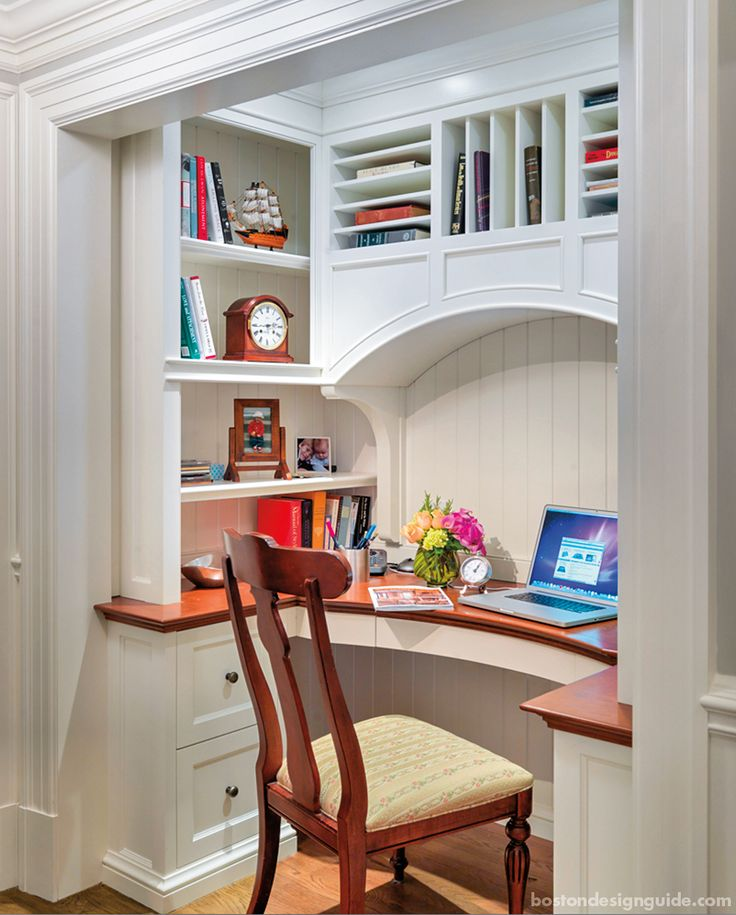 Home Office Desk Architecture | Jan Gleysteen Architects, Inc.