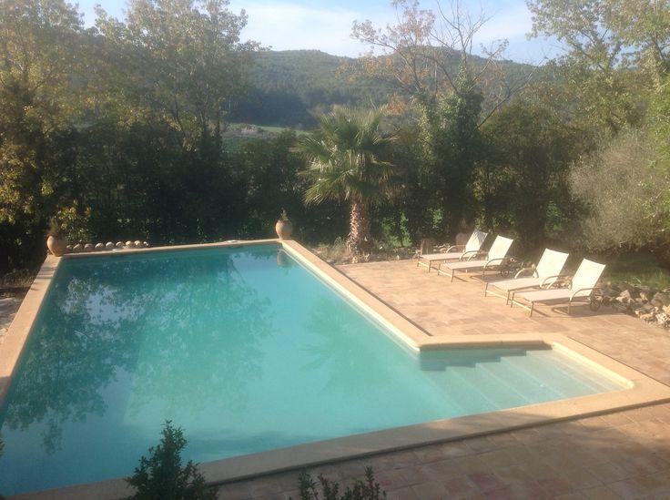 Pool at Mas Xipres Spain area Barcalona