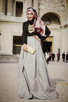 hijab chic pinterest - Google zoeken