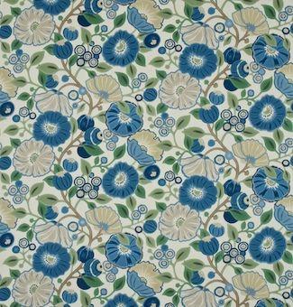 "Sanderson fabric - ""Tree Poppy"""