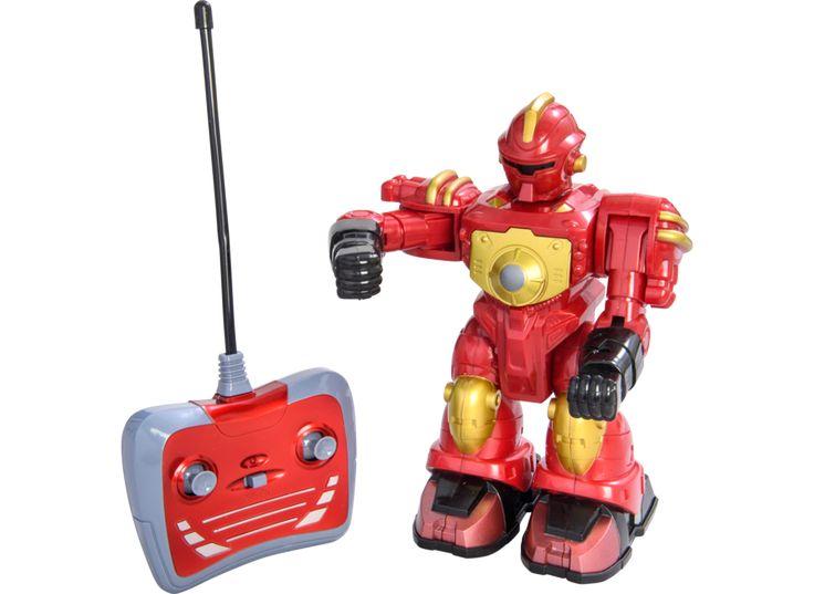 Robot Smasherz 21 cm, Red 40Mhz
