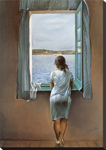 Person in Window, Salvador Dali
