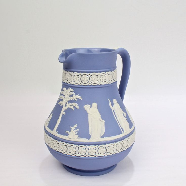 Details About Wedgwood England Etruria Barlaston Blue And