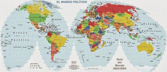 Mapamundi politico