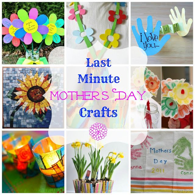 Easy Last Minute Mother's Day Craft Ideas - Worthing Court