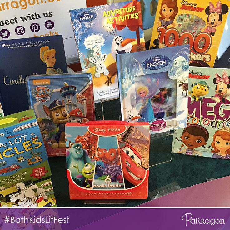Today at the #BathKidsLitFest we're showing off some of our colourful new #DisneyFrozen, #PawPatrol, #DisneyJunior and #Pixar books and gifts! Pop by and say hi! We're in the Bath Guildhall, UK, all week! @BathFestivals