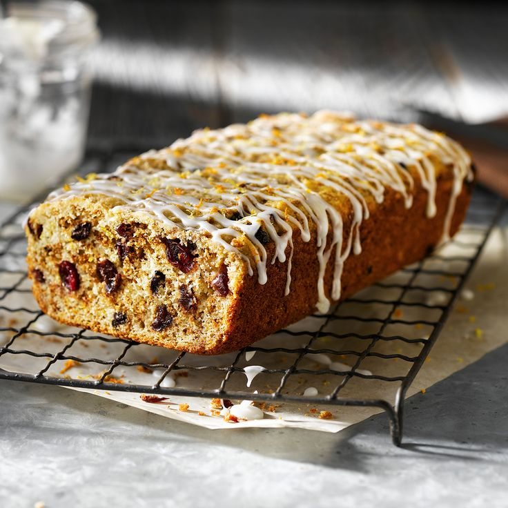 With fresh berries and a hint of citrus, this is the kind of loaf that disappears quickly when left on the counter.