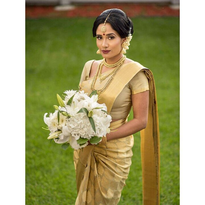Vithya visvendra wedding dress