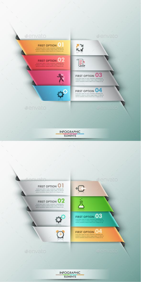 Modern Infographic Options Banner (2 Colors) Template #design Download: http://graphicriver.net/item/modern-infographic-options-banner-2-colors/9444329?ref=ksioks