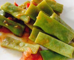 Recept: Snijbonen met tomaat & knoflook