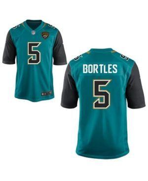 Nike Men's Blake Bortles Jacksonville Jaguars Game Jersey - Blue XXL