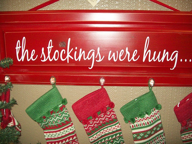 Another stocking hanger