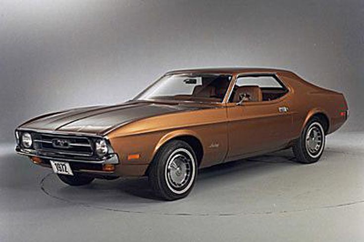 View Pictures of Vintage Ford Mustangs: 1972 Ford Mustang