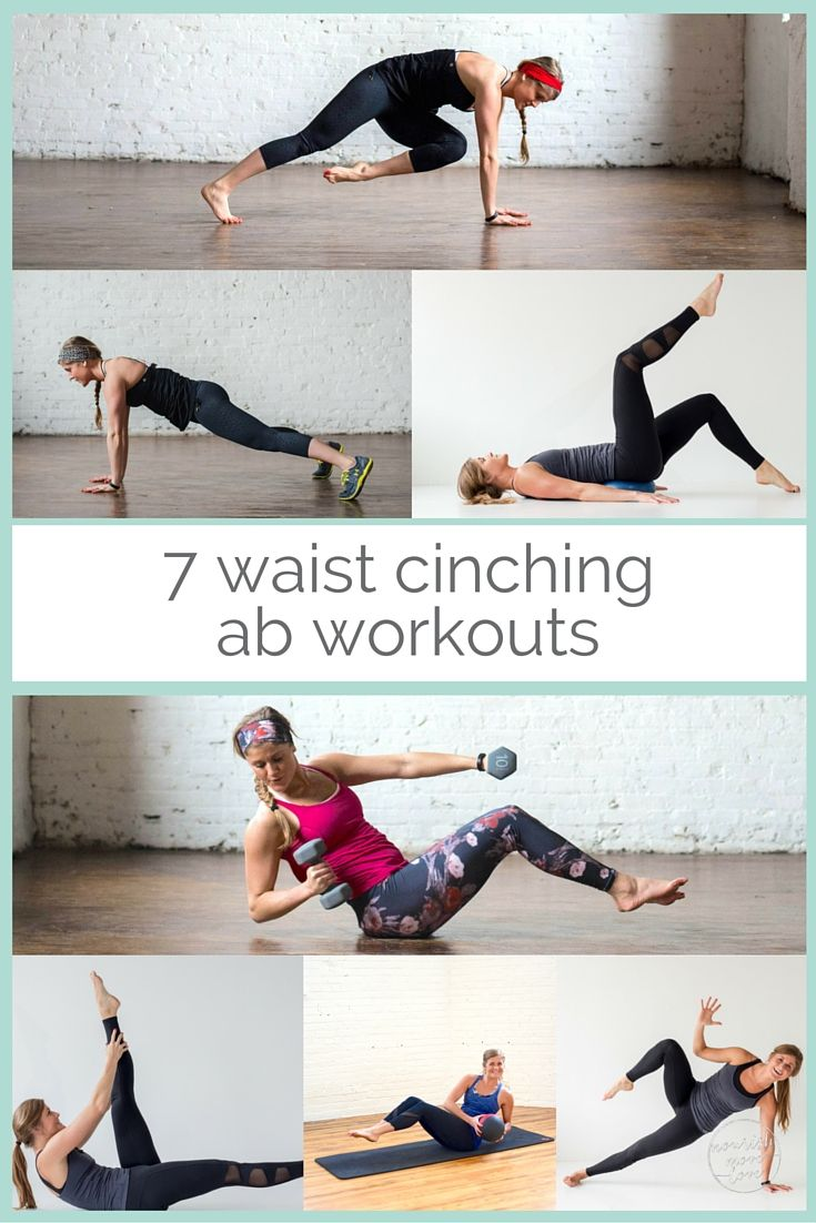 7 waist cinching ab workouts