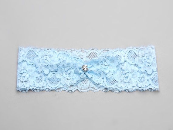 Something Blue Garter Lace Bridal Wedding On Etsy