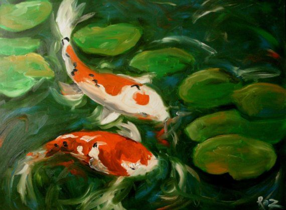 62 best images about koi on pinterest japanese koi for Japanese koi fish painting