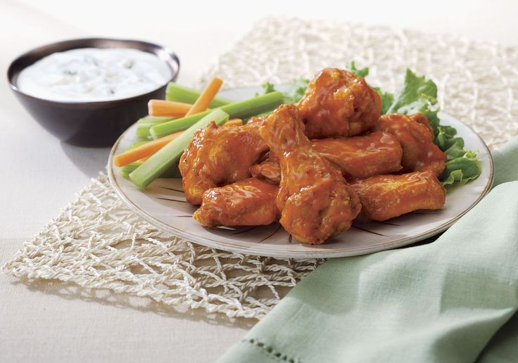 Hot and Spicy Baked Chicken Drumettes or Wings Recipe