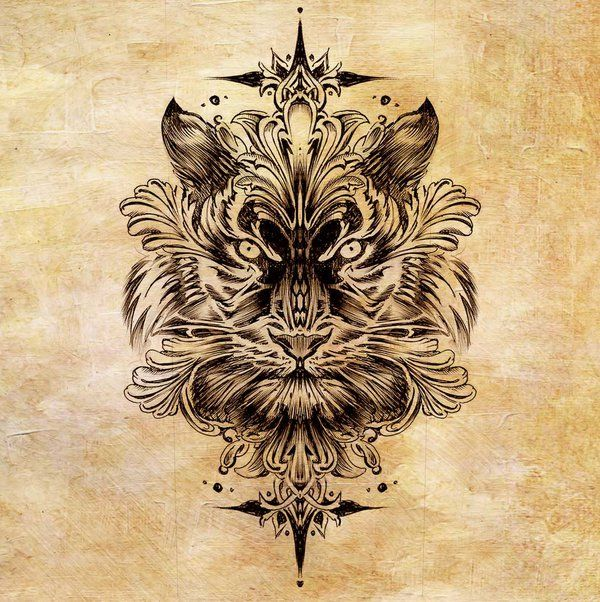 Best 20+ Tiger tattoo design ideas on Pinterest