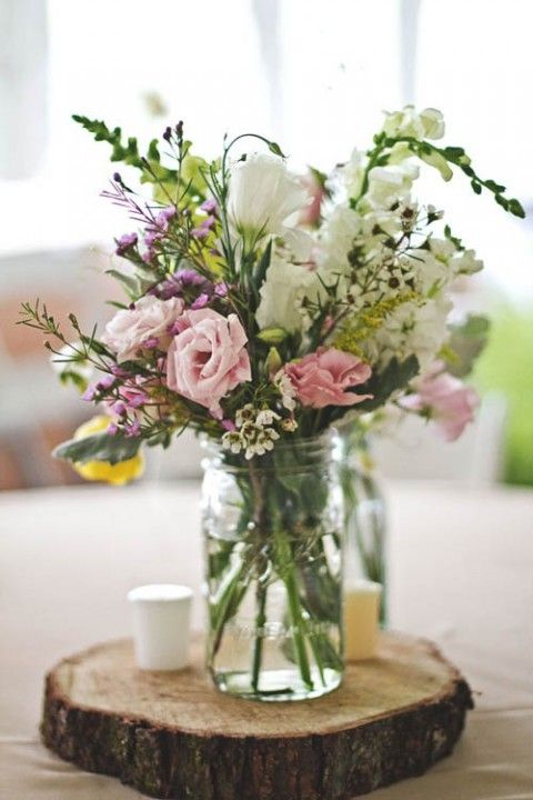 104 best centerpieces for wedding receptions images on pinterest 90 beautiful summer wedding centerpieces junglespirit Images