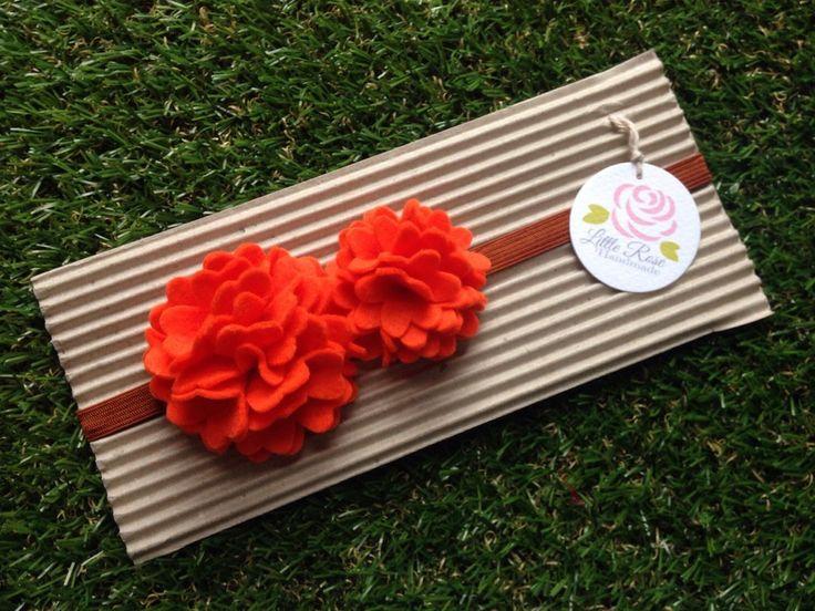 Fascia elastica  in tono arancione, by Romanticards e Little Rose Handmade, 7,50 € su misshobby.com