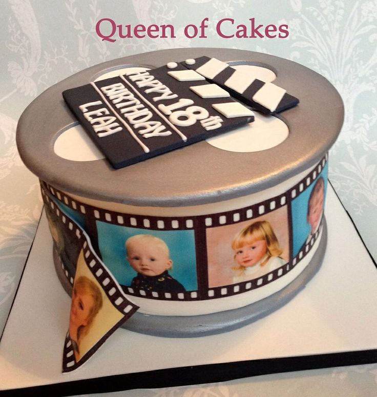 Cake With Photo Reel : 17 Best images about Queen of Cakes creations on Pinterest ...