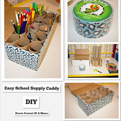 17 Best Ideas About School Supply Caddy On Pinterest Art