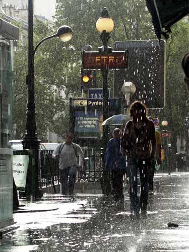 París y su Lluvia