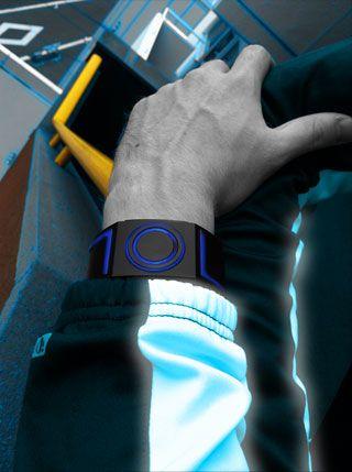 Kisai Seven LED watch