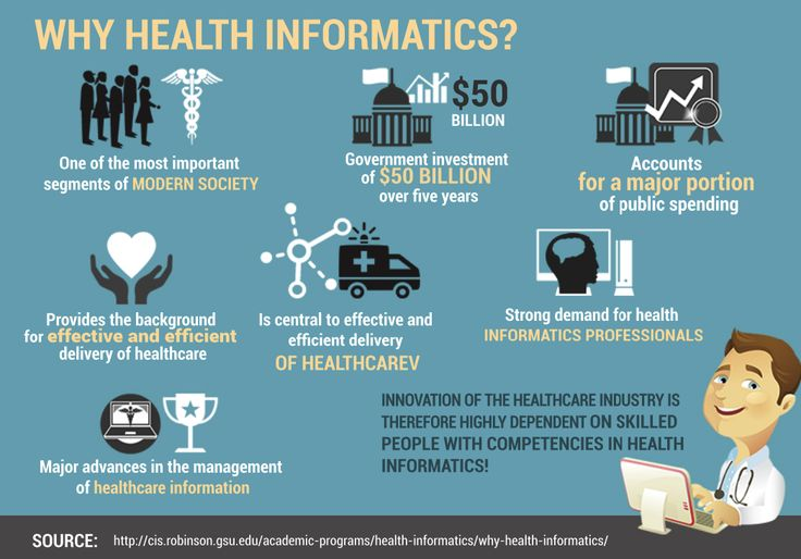 Health Informatics is to gather, store, retrieve and usage