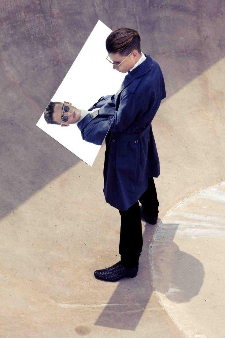 Alvin Kean Wong - 'Reflection' - Jasper G models for Designare Homme's November 2012 issue.