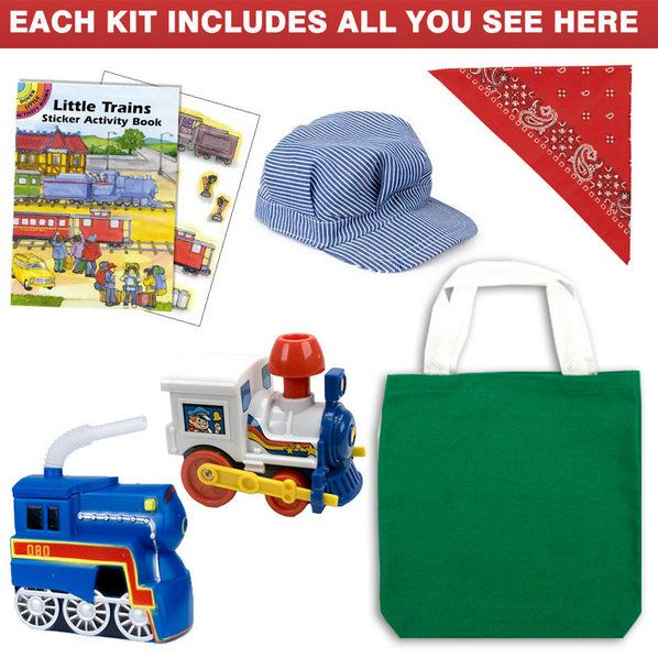 Check out Train Ultimate Favor Kit (for 1 Guest) - Discount Party Accessories from Wholesale Party Supplies