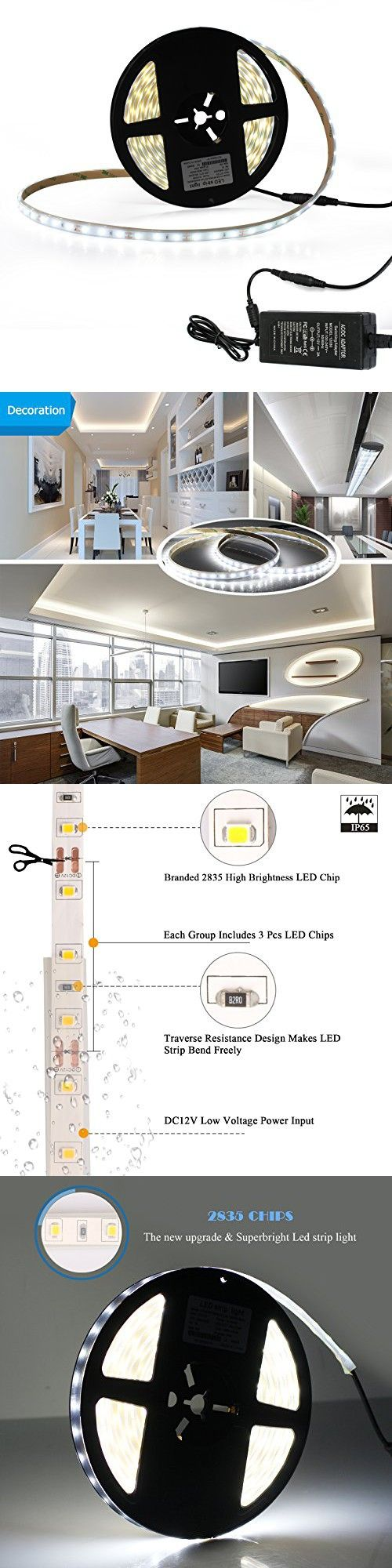 56b5855aab7b775febb4606a3dc0f331 best 25 led tape ideas on pinterest led tape light, strip  at bakdesigns.co