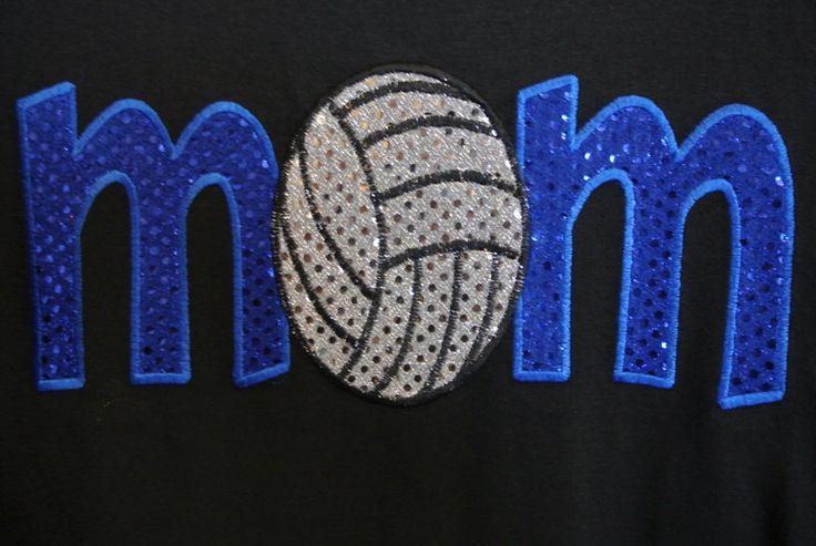 Volleyball Shirt. $23.00, via Etsy.