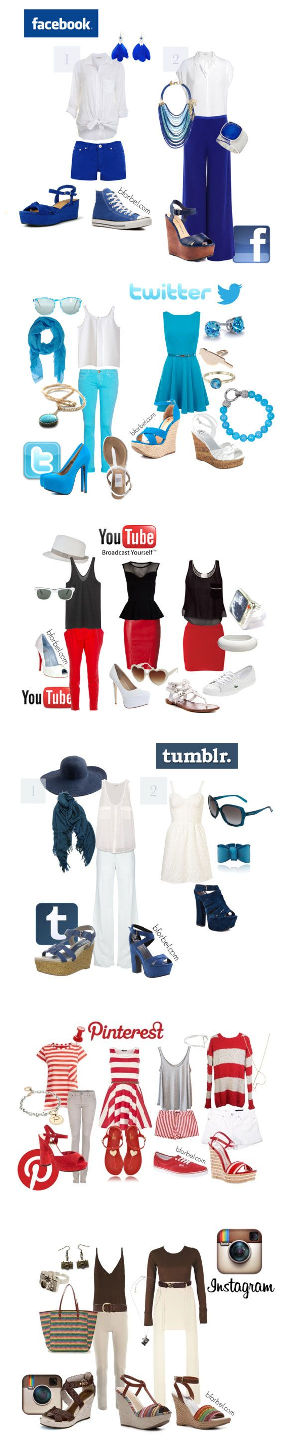 Muchas formas de combinar#Repin By:Pinterest++ for iPad#