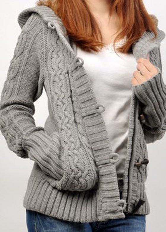 17 Best images about KNITTING - LADIES LONG SLEEVE on Pinterest Cable, Cabl...