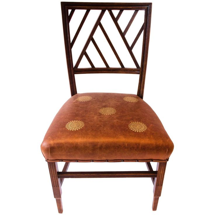 Anglo-Japanese Walnut Side Chair Attributed to E W Godwin
