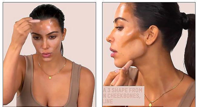 Летний урок макияжа от Ким Кардашьян: контурирование и много хайлайта. Ким Кардашьян запустила свою линию декоративной косметики. В честь этого она сняла много роликов по технике нанесения макияжа. Я нашла один, который показался мне максимально полезным. В нем она очень наглядно демонстрирует способы контурирования, которые подойдут на каждый день, а также простой способ, как выделить лицо (и тело!) хайлатером летом, чтобы оно сияло и не выглядело плоским. #кимкардашьян, #кардашьян…