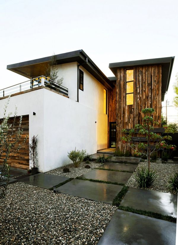 Modern Rustic Dwelling In California: 355 Mansfield. Inspired HomesRustic  HomesModern RusticModern EntryModern LivingGarden IdeasModern HousesModern  ...