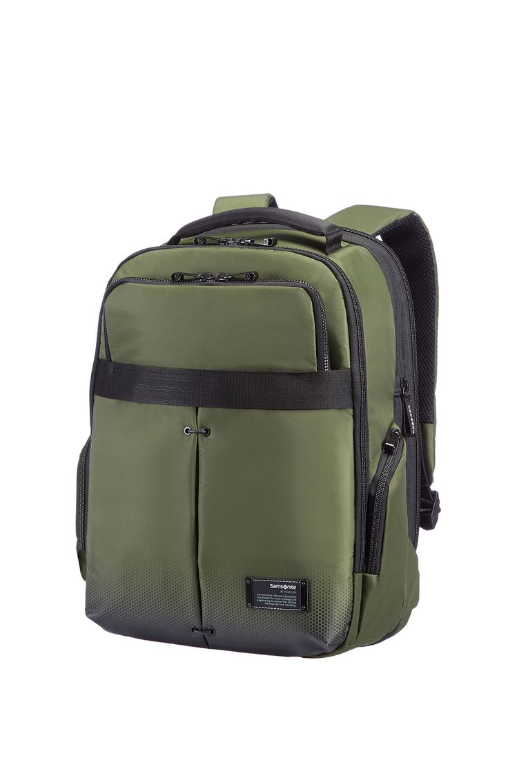 "CityVibe Urban Green Laptop Backpack 13"" - 14"" #Samsonite #CityVibe #Travel #Suitcase #Luggage #Strong #Lightweight #MySamsonite #ByYourSide"