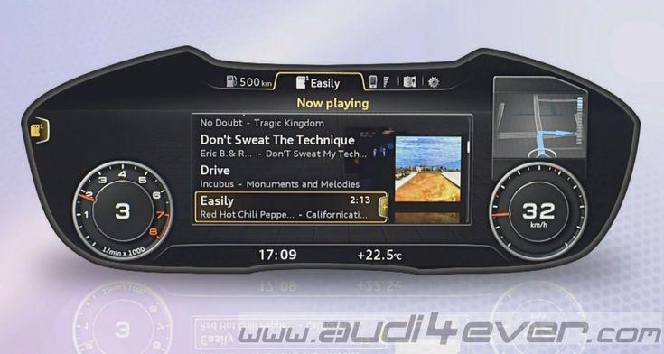 Audi4Ever - a4e Blog - Detail - Presse - HMI: Human-Machine- Interface - Die Zukunft im neuen Audi TT