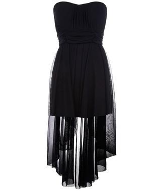 Tally Weijl Sheer Dip Hem Dress