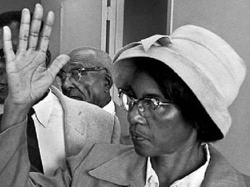 Alabama native and Civil Rights Activist, Johnnie Carr (1911-2008) was an active participant in the Montgomery bus boycott.   She became active in numerous clubs and organizations, including the NAACP, where she worked closely with E. D. Nixon and childhood friend Rosa Parks. During the boycott Carr was part of the carpool, served on committees, and spoke at mass meetings.