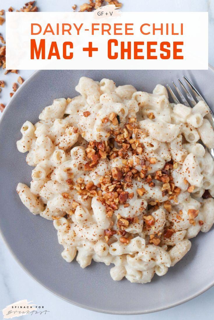 Chili Cauliflower Mac And Cheese Recipe Vegan Lunch Recipes Vegan Dinner Recipes Vegan Comfort Food